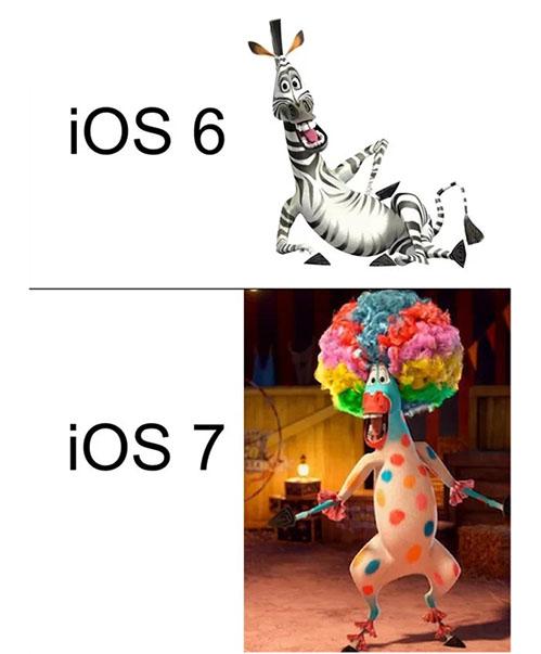 ios6 vs ios7