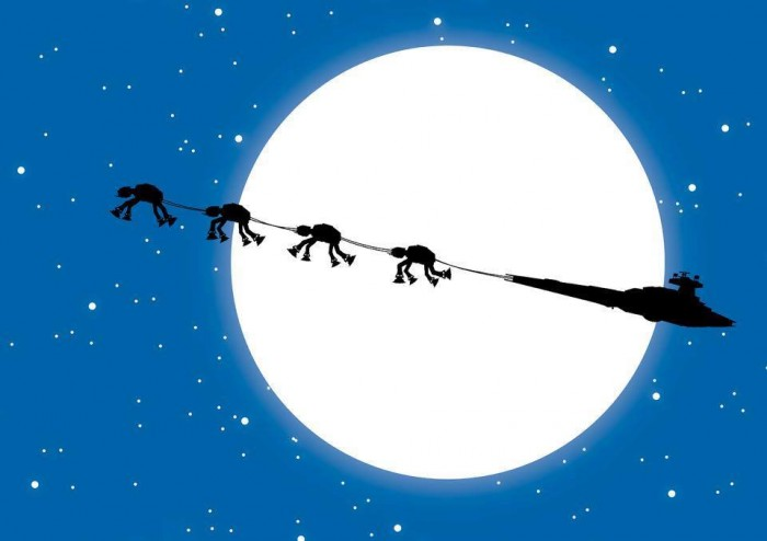 7elcq8k 700x494 Star Wars Christmas Wallpapers X Mas Wallpaper star wars