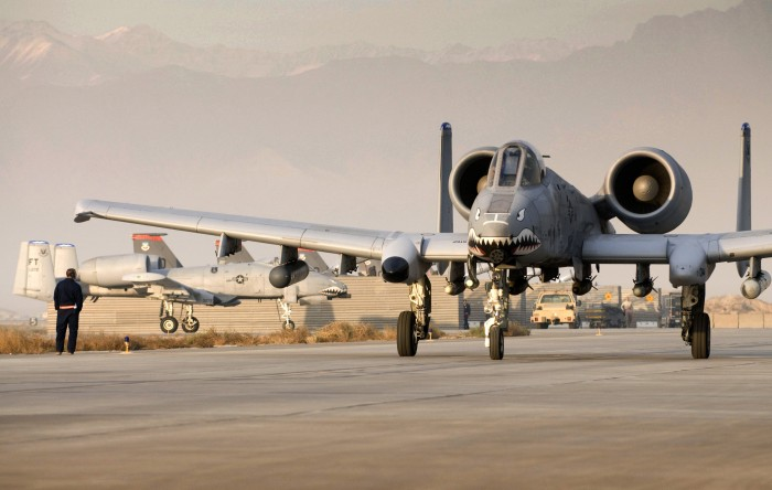 A-10 crews keep up the fight during the holidays