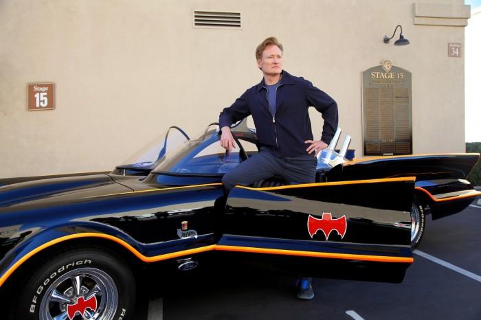 Conan and the Batmobile.jpg