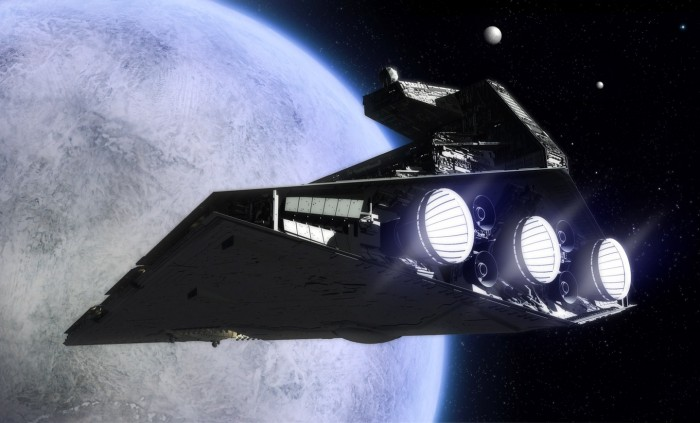 Orbiting Death Star 700x423 Orbiting Death Star