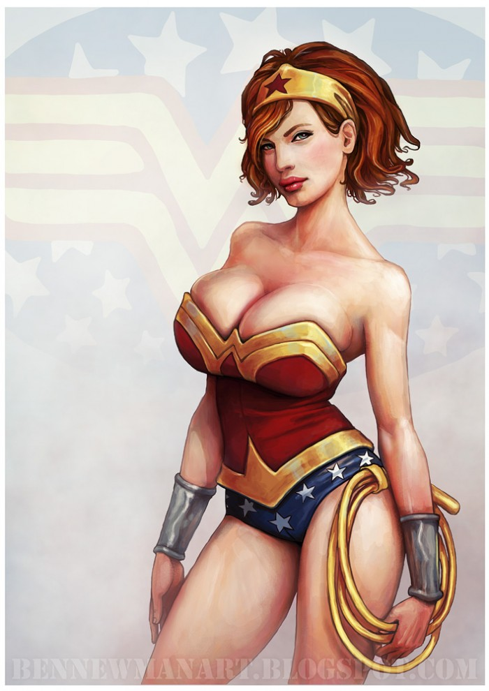 ben newman - christina hendricks wonder woman.jpg