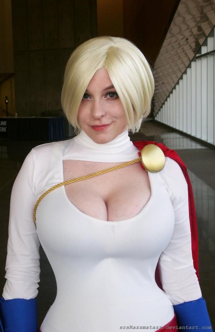 Huge tits measuring big white cock