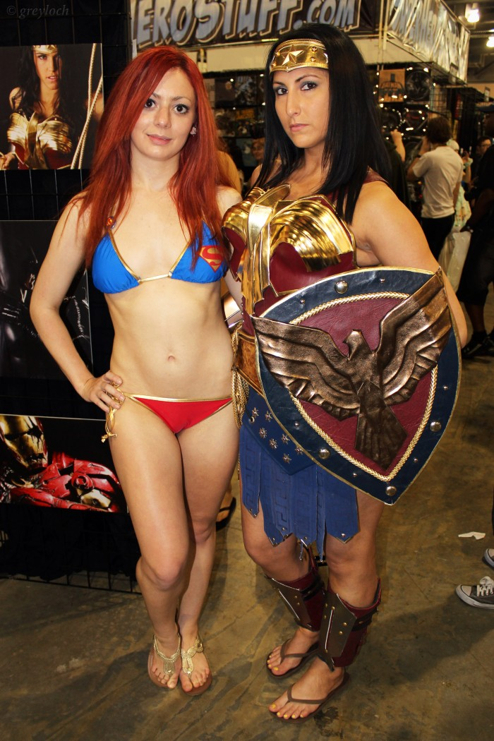 supergirl swimsuit and wonder woman cosplayer.jpg
