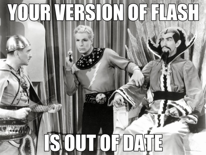 your version of flash is out of date.jpg