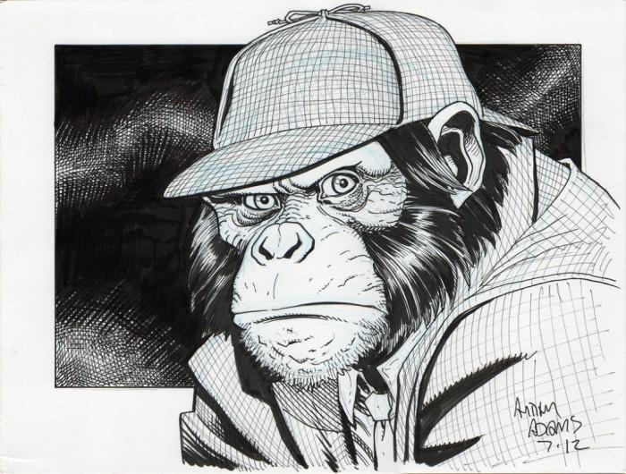 Detective Chimp by art adams.jpg