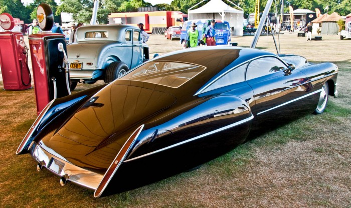 Sleek Retro Future Car