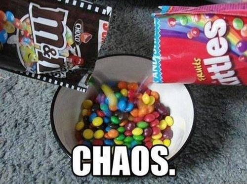 Chaos Chaos Humor Food