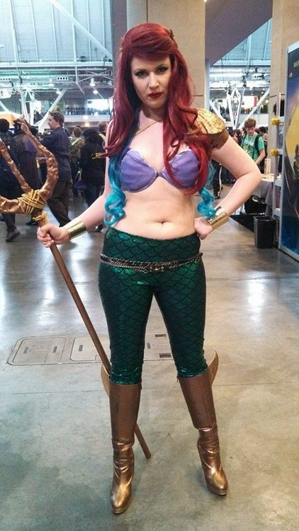 the little mermaid aquaman cosplayer.jpg