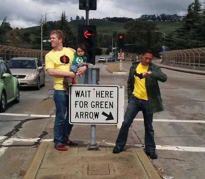 wait here for green arrow.jpg
