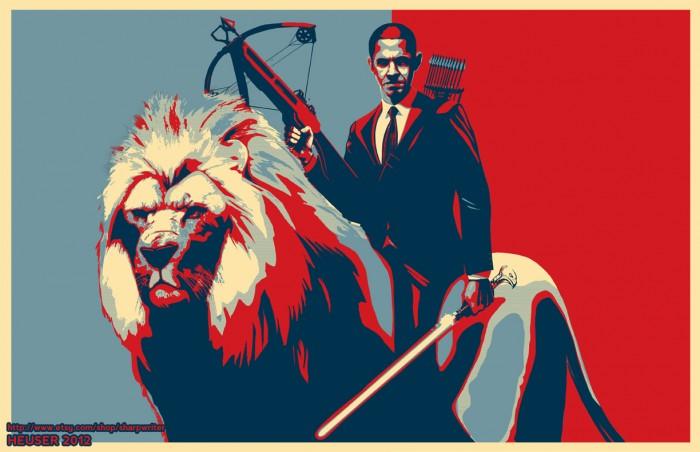Obama Riding a lion.jpg