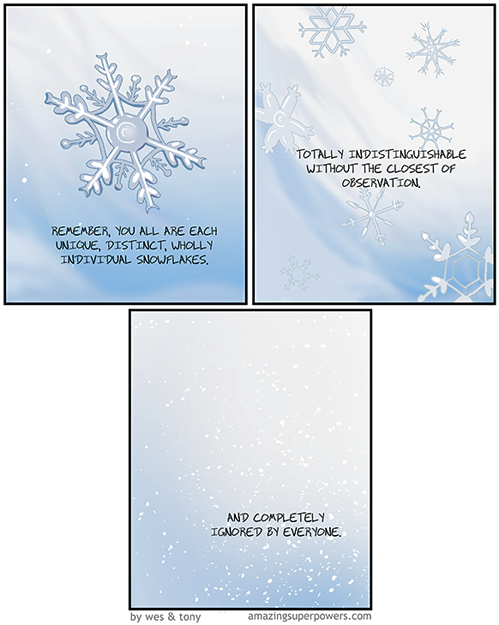 You are a unique special snowflake.png