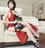 ada wong 2 shermie cosplay 150x161 Shermie Cosplay Tomb Raider Shermie Sexy not exactly safe for work Harley Quinn Gaming domino cosplay Comic Books Black Cat