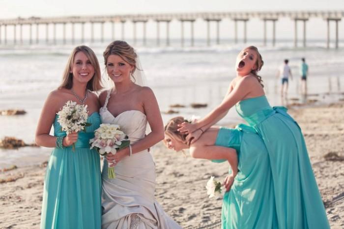 best bridesmaids ever 700x466 Bridesmaids women wedding dress Bridesmaids beach