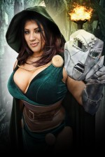 dungivy1 150x224 ivy doomkitty Sexy Rocketeer powergirl not exactly safe for work Ivy Doom Kitty Gaming cosplay Comic Books Assassins Creed