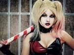 harley quinn shermie cosplay 150x112 Shermie Cosplay Tomb Raider Shermie Sexy not exactly safe for work Harley Quinn Gaming domino cosplay Comic Books Black Cat