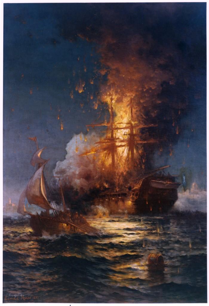 1401442255547 700x1024 fire ship Art