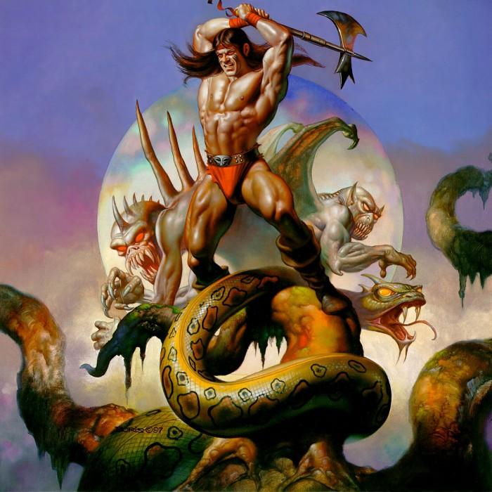 1402042881972 700x700 snake axe slayer Art