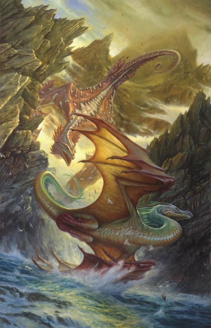 1405326562477 700x1087 dragon fight Art