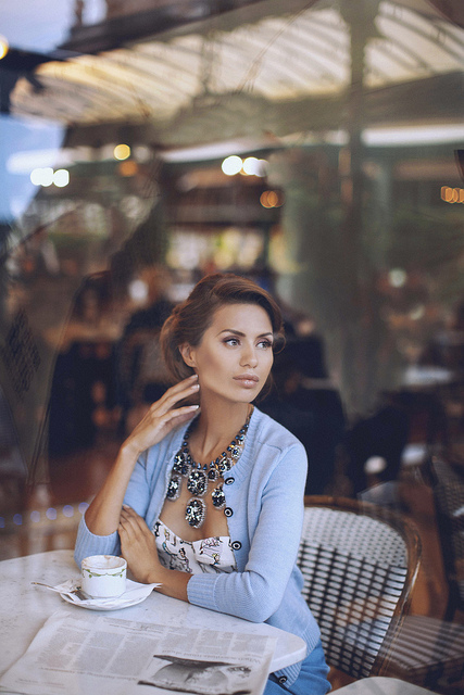 lady at lunch women fashion