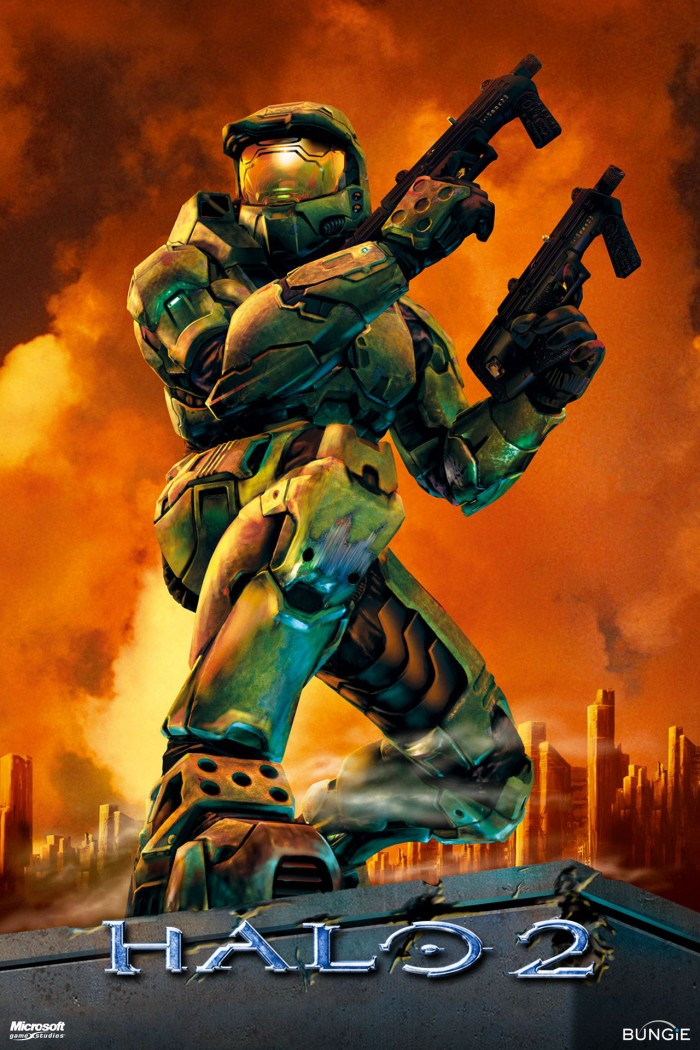 Halo 2 cover 700x1050 Halo 2 cover vertical wallpaper halo Gaming
