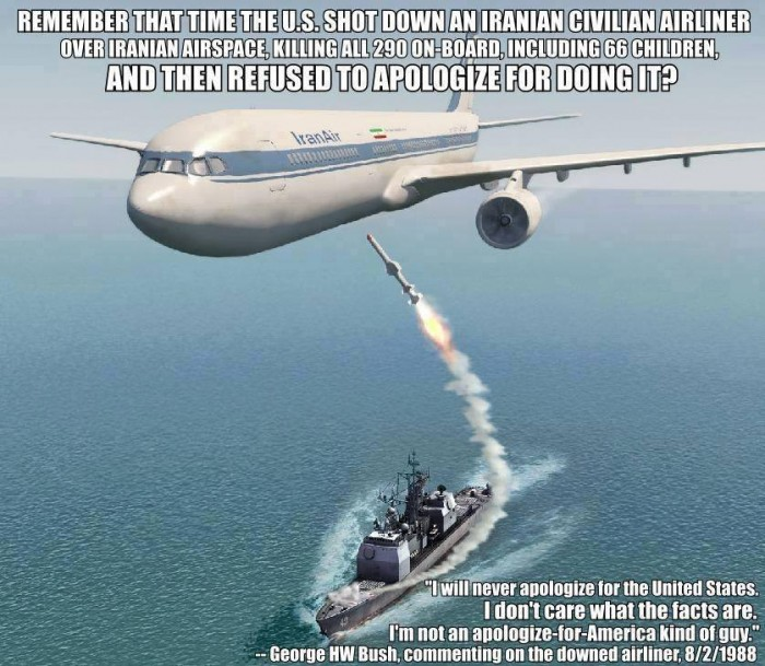 Remember when the USA killed 290 Iranians.jpg