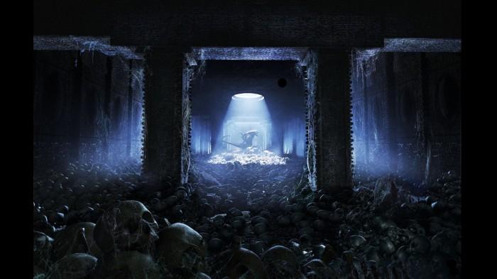 alien graveyard 700x393 alien graveyard Wallpaper Fantasy   Science Fiction Alien