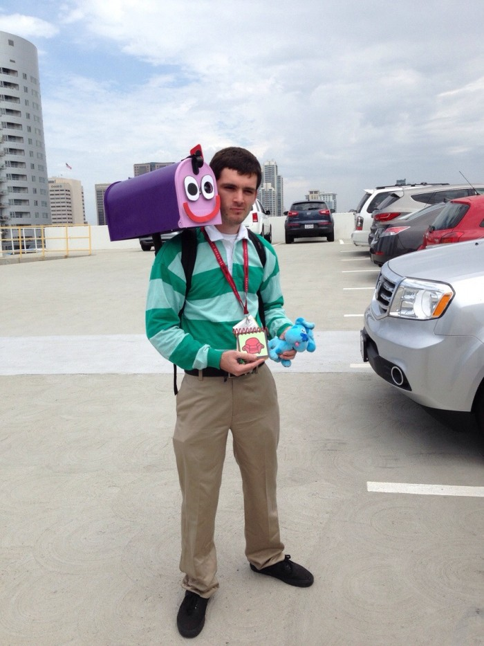 blues clues cosplay 700x933 blues clues cosplay Television cosplay