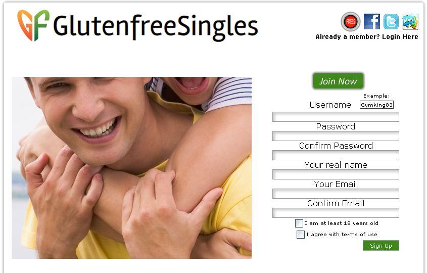 Gluten free dating site