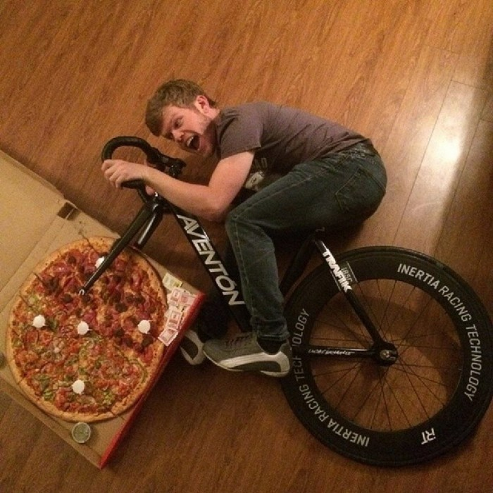 pizza bike 700x700 pizza bike Humor Food