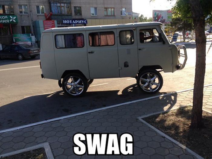swag swag wtf Humor Cars