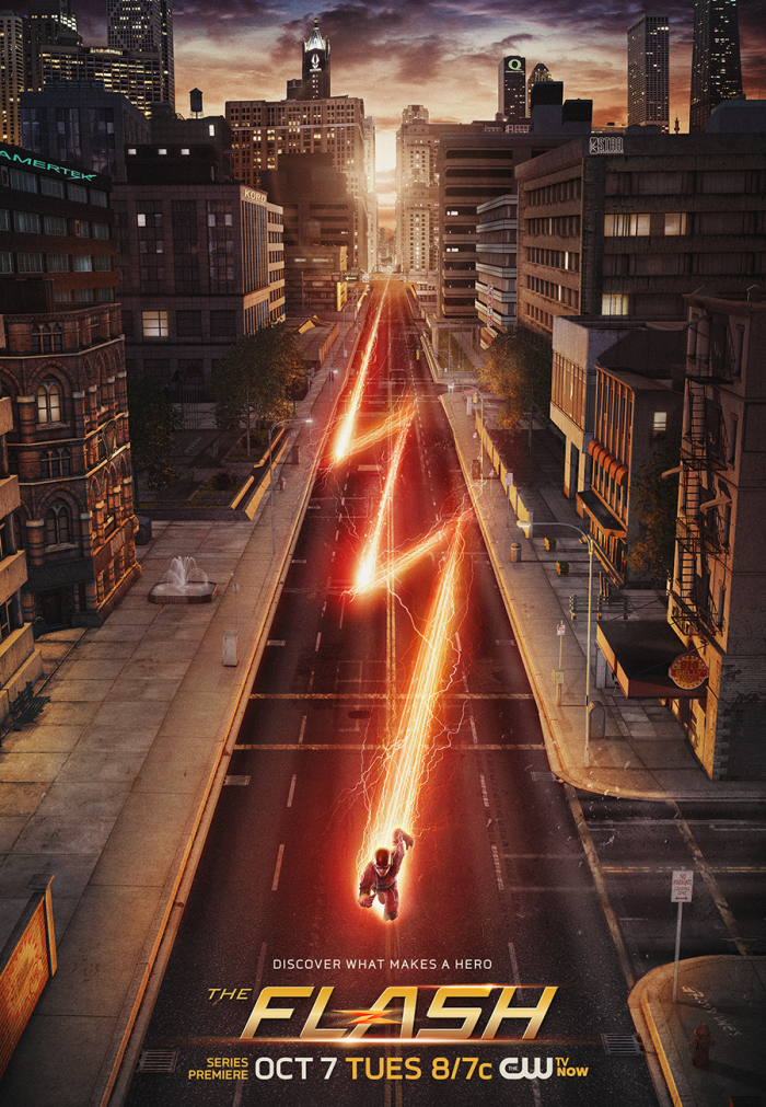 the flash promo poster 700x1011 The Flash poster vertical wallpaper Television Comic Books