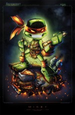tumblr myhlhjN90c1qfbemzo4 1280 150x230 TMNT Minis by RobDuenas vertical wallpaper tmnt Awesome Things Art