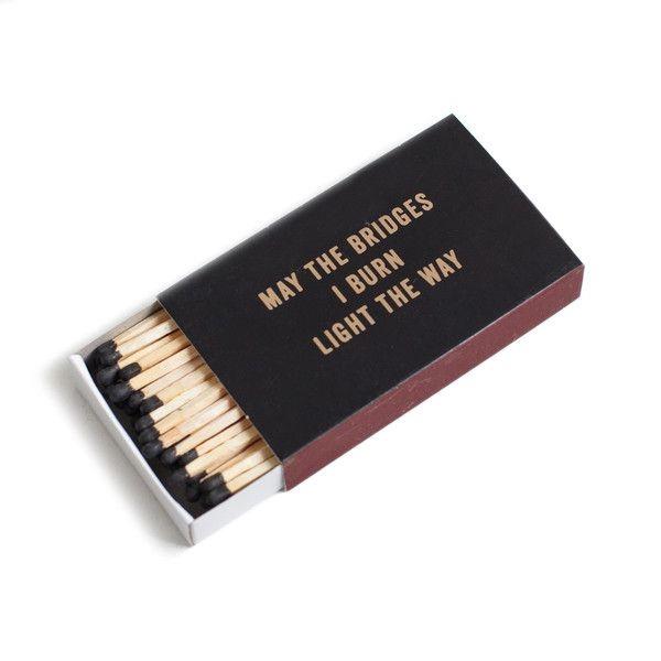 burning bridges life