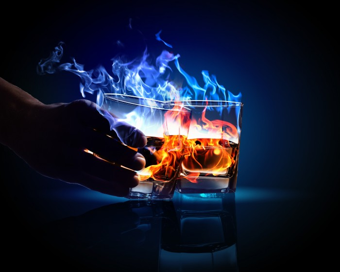 Alcohol in flames.jpg