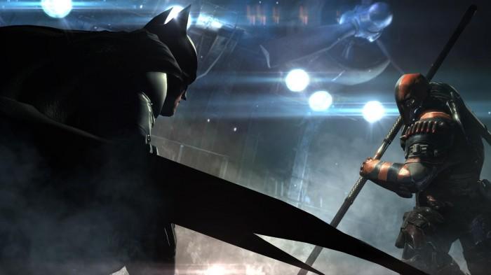 Batman vs Deathstroke 700x393 Batman vs Deathstroke Wallpaper Gaming batman