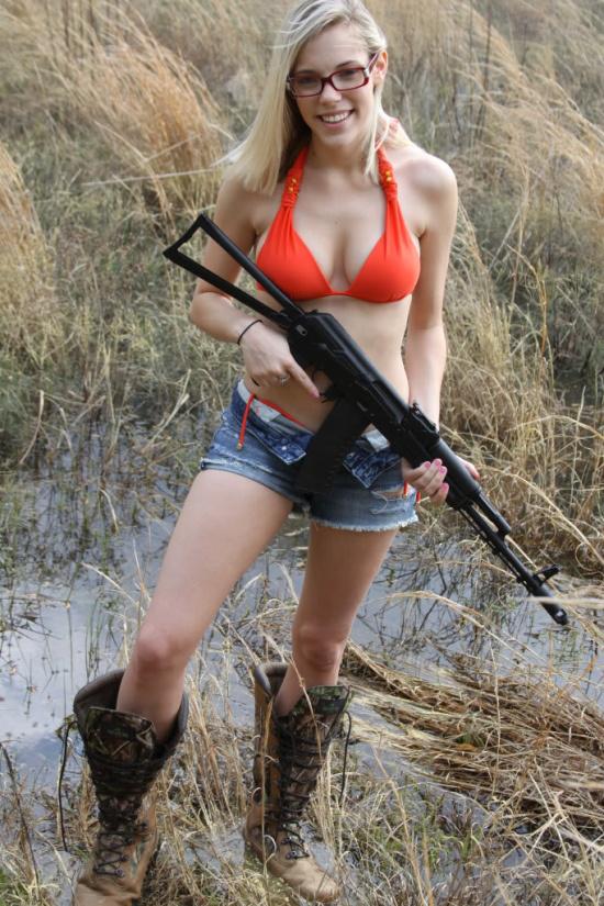 Blonde Gunner in mud boots.jpg