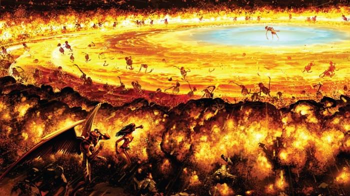 DC Explosion 700x393 DC Explosion wtf Wallpaper Comic Books