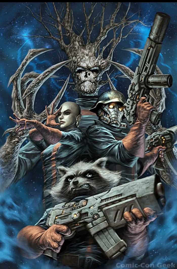 Guardians 700x1062 Guardians rocket Guardians of the Galaxy groot Comic Books