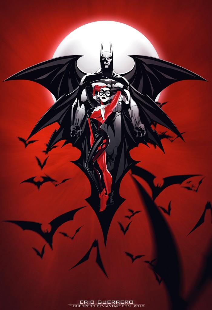 Harley Quinn and Batman - Red.jpg