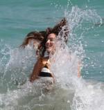 Kelly Brook bangtidy net 413415 150x159 Kelly Brook – beach in Miami 03.02.14 Wallpaper vertical wallpaper Sexy NeSFW Kelly Brook