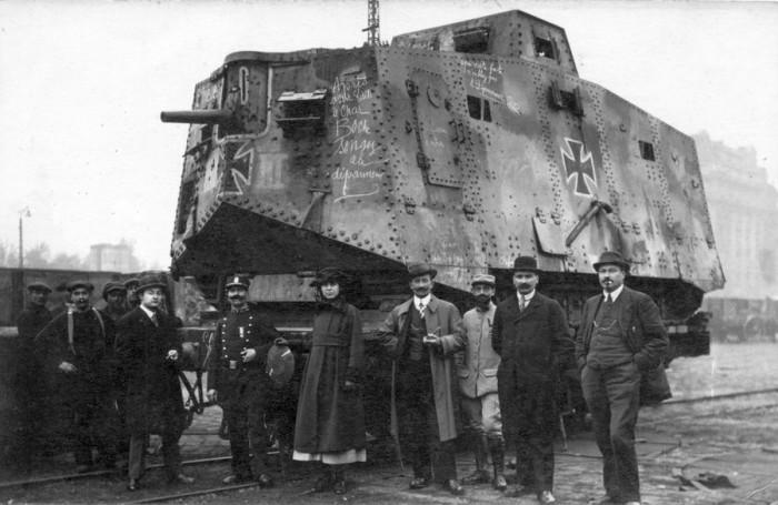 Nazi rail tank 700x455 Nazi rail tank wtf Weapons Military