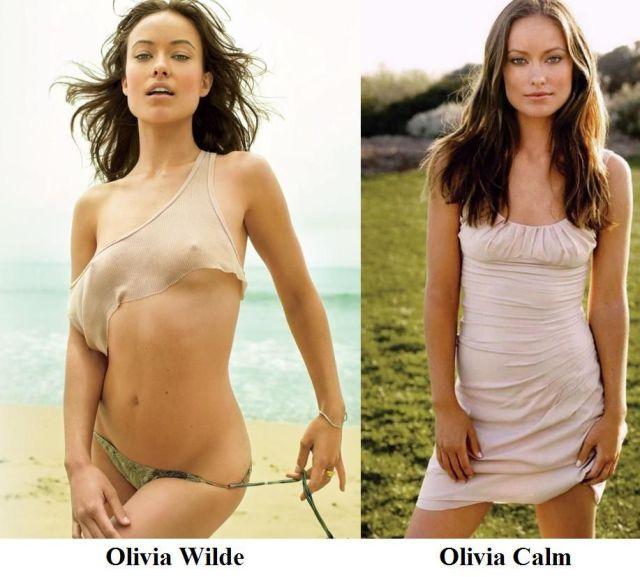 Olivia Wilde vs Calm Olivia Wilde vs Calm olivia wilde NeSFW Humor