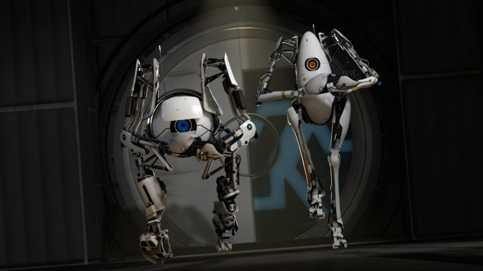 Portal 2 guys 700x393 Portal 2 guys Wallpaper portal Gaming