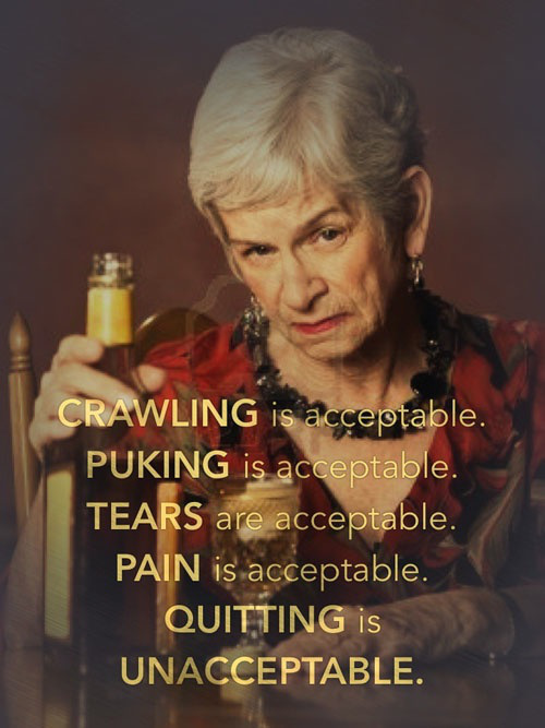 Quitting is Unacceptable2 Quitting is Unacceptable Motivational Quotes