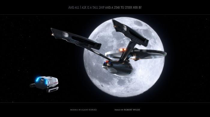 Star Trek NCC 1701 a 700x393 Star Trek NCC 1701 a Wallpaper star trek