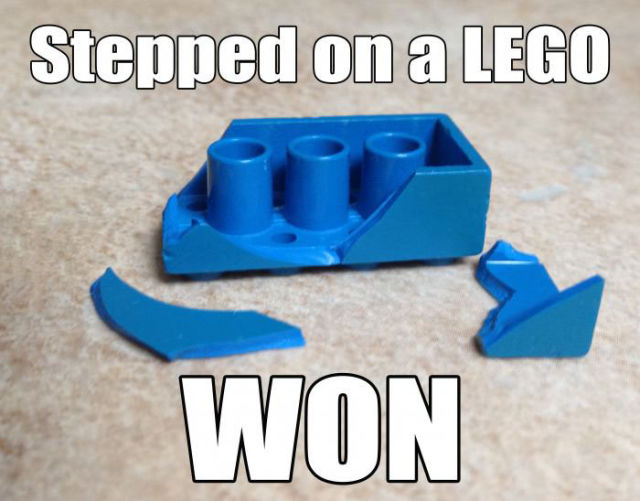 Stepped on a lego2 Stepped on a lego lego Humor