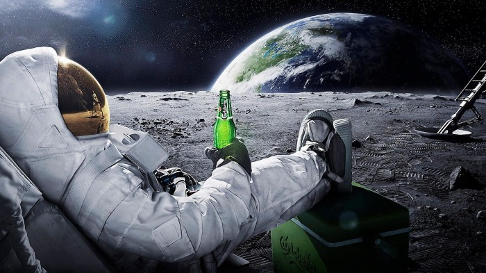 Watching the world 700x393 Watching the world Wallpaper Space Alcohol