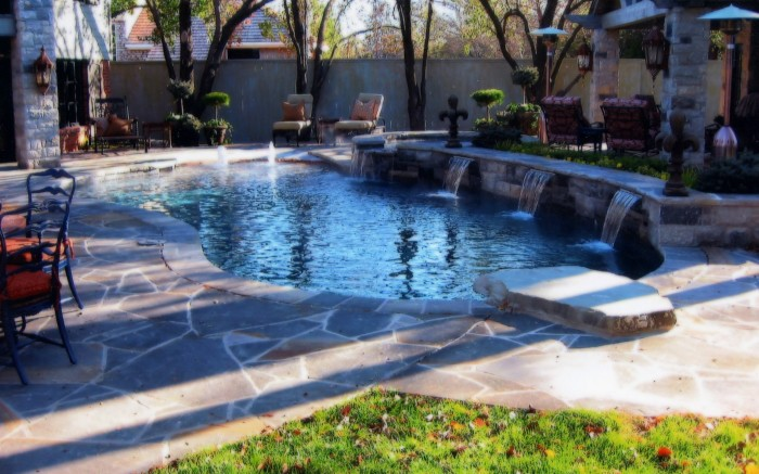 Waterfall Pool 700x437 Waterfall Pool Wallpaper engineering