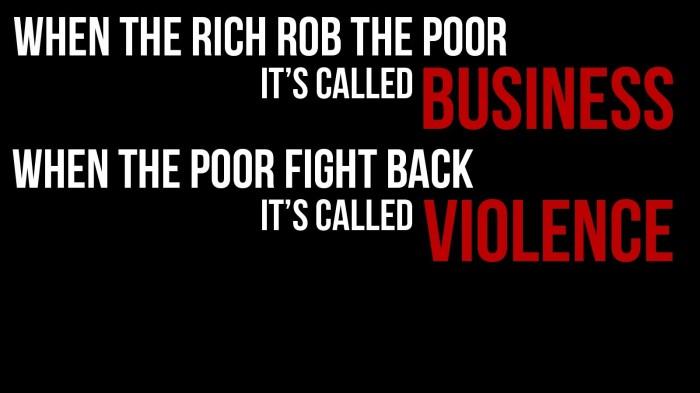 business vs violence 700x393 business vs violence Wallpaper Politics Humor